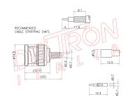 BNC-04L-TGN - Deltron Italia